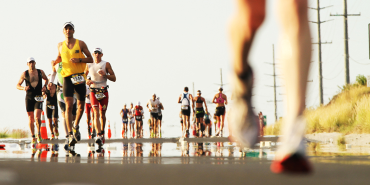 Triathlon Runners