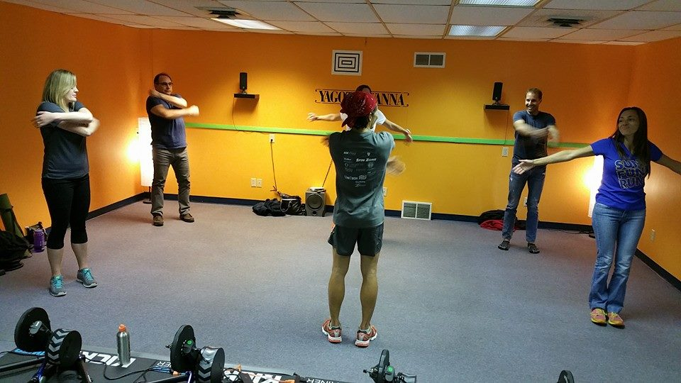 Strengthening at Tri-ing For Life