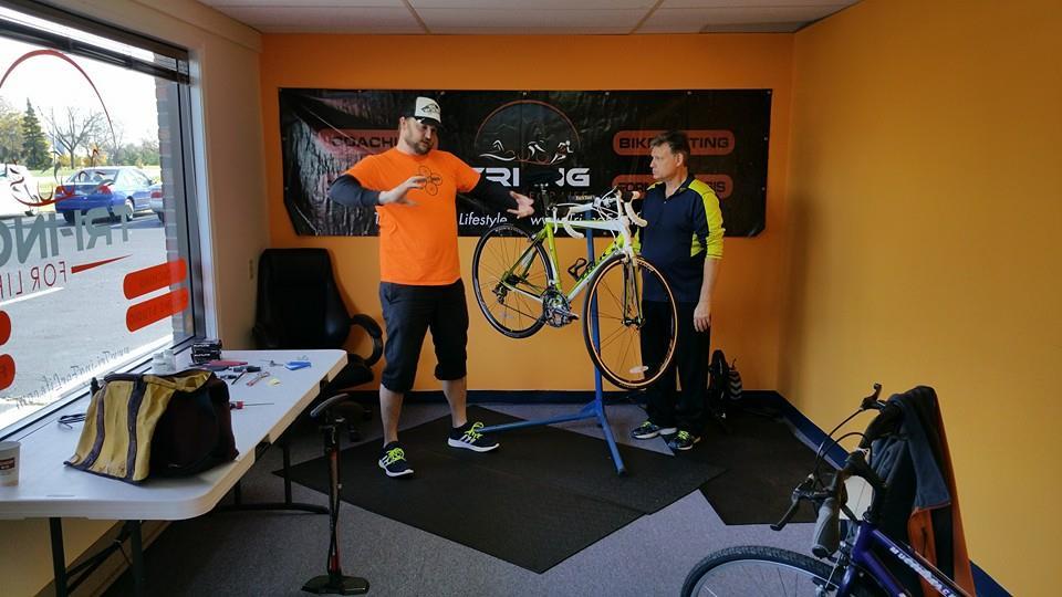 Fixing basic bike problems